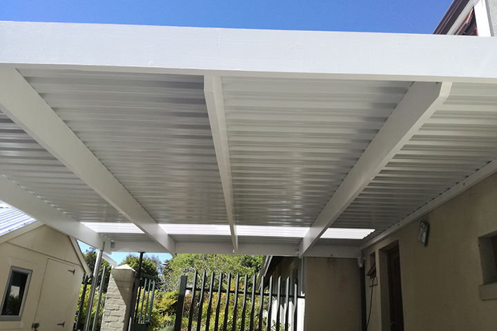 Double Steel Carport